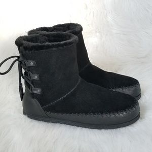 💖 American Eagle Suede Ankle Boots 8.5